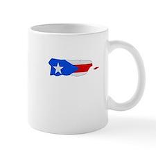 Puerto Rico Stripe Custom Des Mug