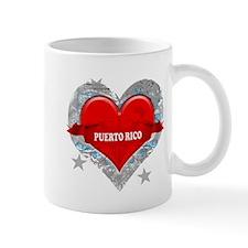 My Heart Puerto Rico Vector S Mug