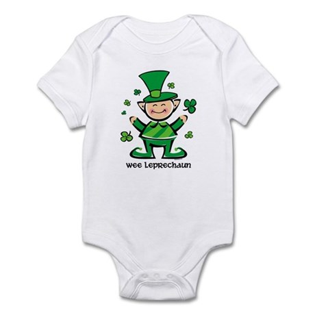 Wee Leprechaun Infant Bodysuit