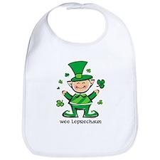 Wee Leprechaun Bib