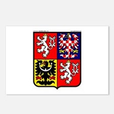 Czech Rep: Heraldic Postcards (Package of 8)