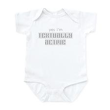 Textually Active Infant Bodysuit