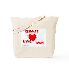 Grandma's Little Angel Tote Bag