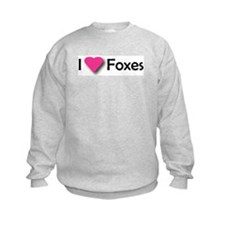 I LUV FOXES Sweatshirt