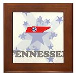 All Star Tennessee Framed Tile