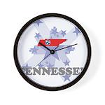 All Star Tennessee Wall Clock