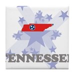 All Star Tennessee Tile Coaster