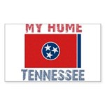 My Home Tennessee Vintage Sty Rectangle Sticker
