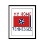 My Home Tennessee Vintage Sty Framed Panel Print