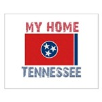 My Home Tennessee Vintage Sty Small Poster
