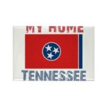My Home Tennessee Vintage Sty Rectangle Magnet