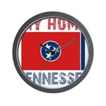 My Home Tennessee Vintage Sty Wall Clock