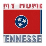 My Home Tennessee Vintage Sty Tile Coaster