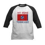 My Home Tennessee Vintage Sty Kids Baseball Jersey