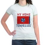 My Home Tennessee Vintage Sty Jr. Ringer T-Shirt