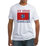 My Home Tennessee Vintage Sty Fitted T-Shirt