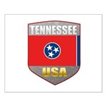 Tennessee USA Crest Small Poster