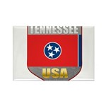 Tennessee USA Crest Rectangle Magnet (10 pack)