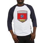 Tennessee USA Crest Baseball Jersey