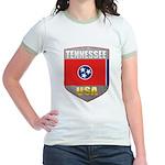 Tennessee USA Crest Jr. Ringer T-Shirt