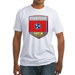 Tennessee USA Crest Fitted T-Shirt