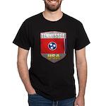 Tennessee USA Crest Dark T-Shirt
