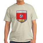 Tennessee USA Crest Light T-Shirt