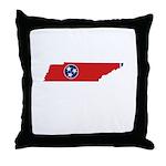Tennessee Stripe Custom Desig Throw Pillow