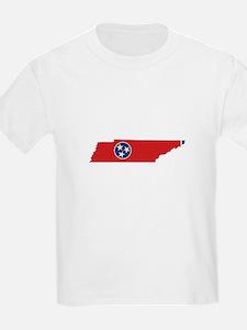 Tennessee Stripe Custom Desig T-Shirt
