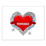 My Heart Tennessee Vector Sty Small Poster