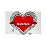 My Heart Tennessee Vector Sty Rectangle Magnet (10