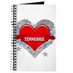 My Heart Tennessee Vector Sty Journal