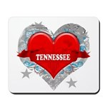 My Heart Tennessee Vector Sty Mousepad