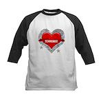 My Heart Tennessee Vector Sty Kids Baseball Jersey