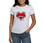 My Heart Tennessee Vector Sty Women's T-Shirt