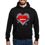 My Heart Tennessee Vector Sty Hoodie (dark)