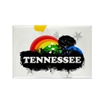 Sweet Fruity Tennessee Rectangle Magnet