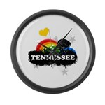 Sweet Fruity Tennessee Large Wall Clock