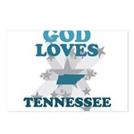 God Loves Tennessee Postcards (Package of 8)