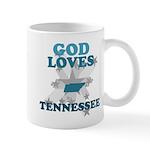 God Loves Tennessee Mug