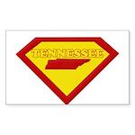 Super Star Tennessee Rectangle Sticker