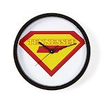 Super Star Tennessee Wall Clock