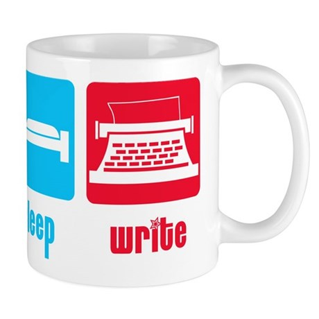 Eat Sleep Write Mug