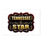 Tennessee Star Gold Badge Sea Postcards (Package o
