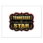 Tennessee Star Gold Badge Sea Small Poster