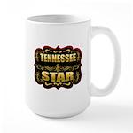 Tennessee Star Gold Badge Sea Large Mug