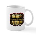 Tennessee Star Gold Badge Sea Mug