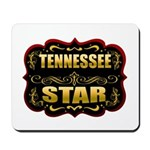 Tennessee Star Gold Badge Sea Mousepad