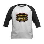 Tennessee Star Gold Badge Sea Kids Baseball Jersey