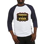 Tennessee Star Gold Badge Sea Baseball Jersey